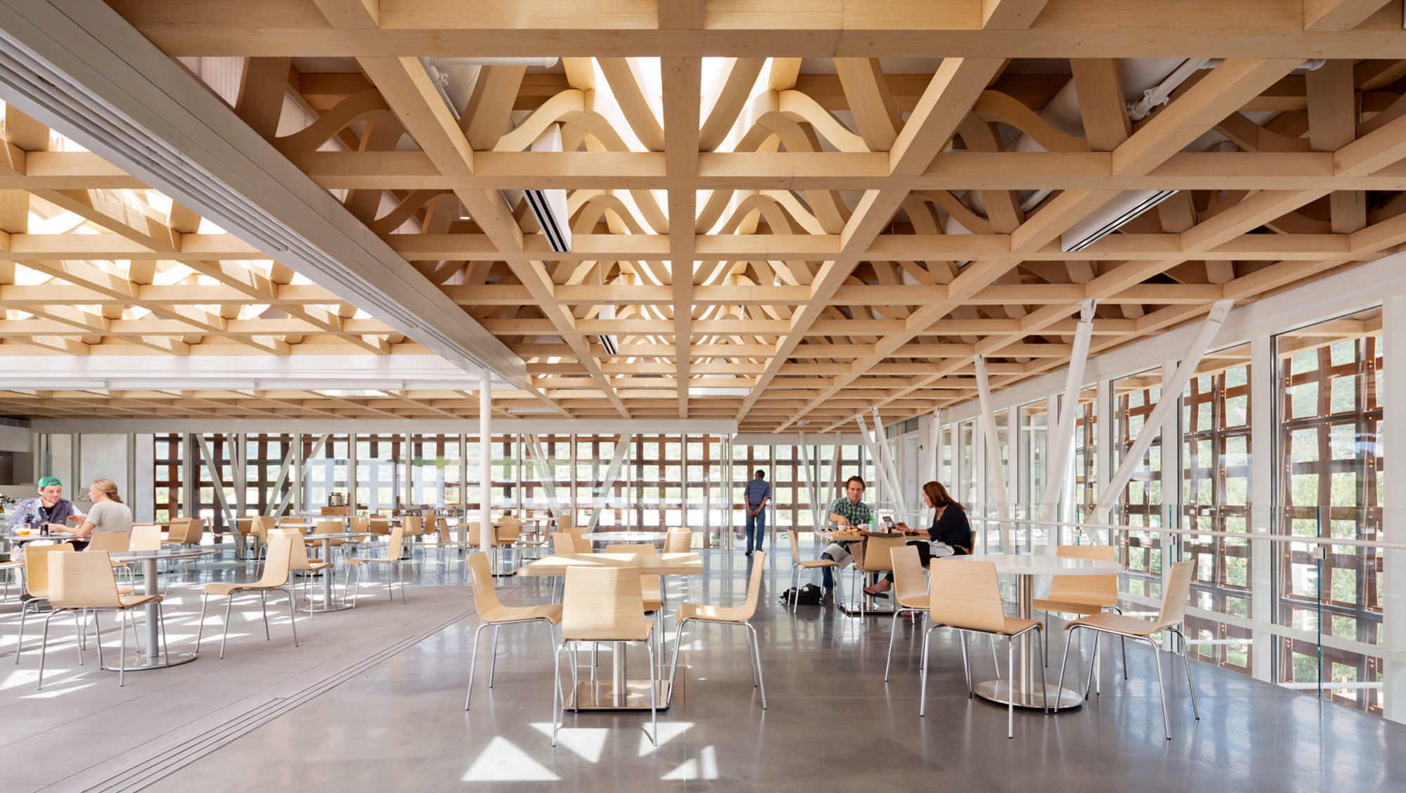 Aspen Art Museum Cafe and Roof Top Deck