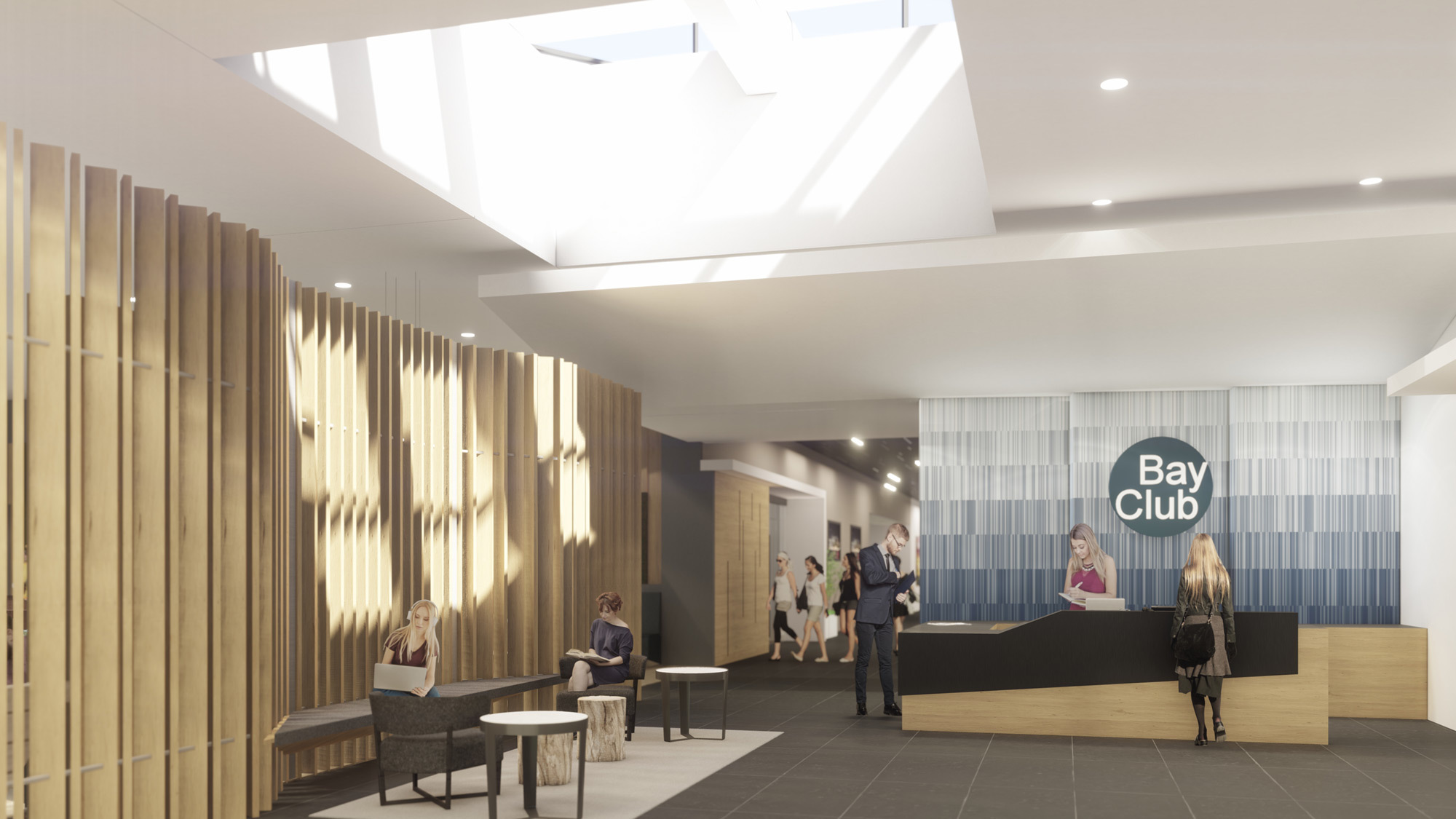 Ccy Architects Bay Clubs El Segunda Lobby 2