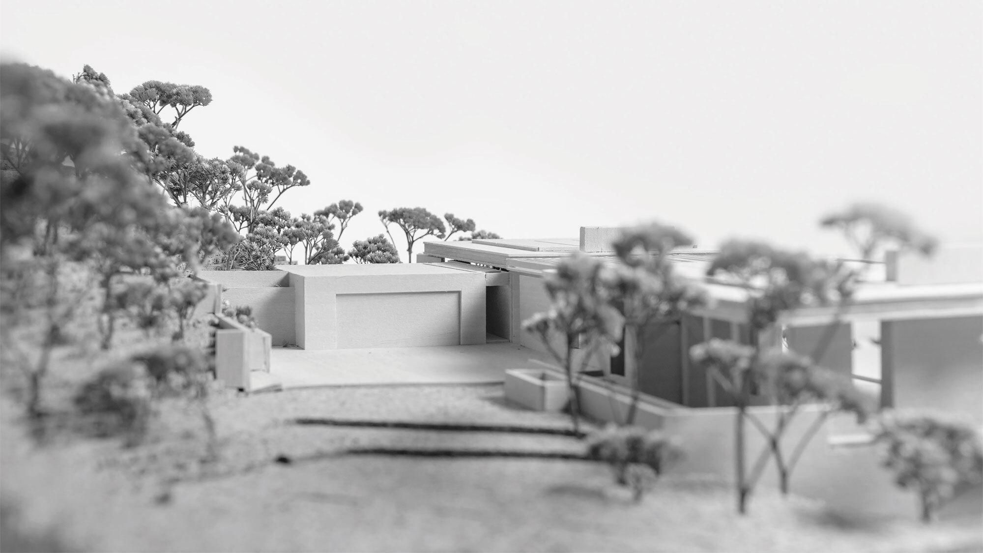 CCY Architects Pavilion model auto
