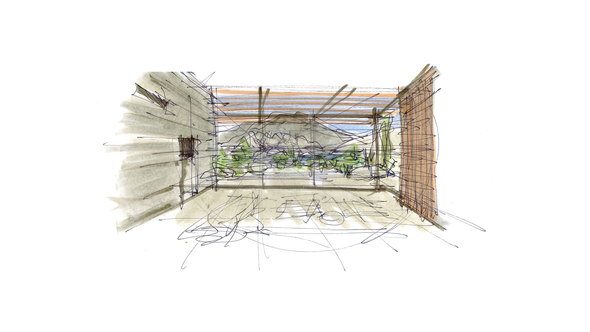CCY Architects Coral Mountain Sketches 2