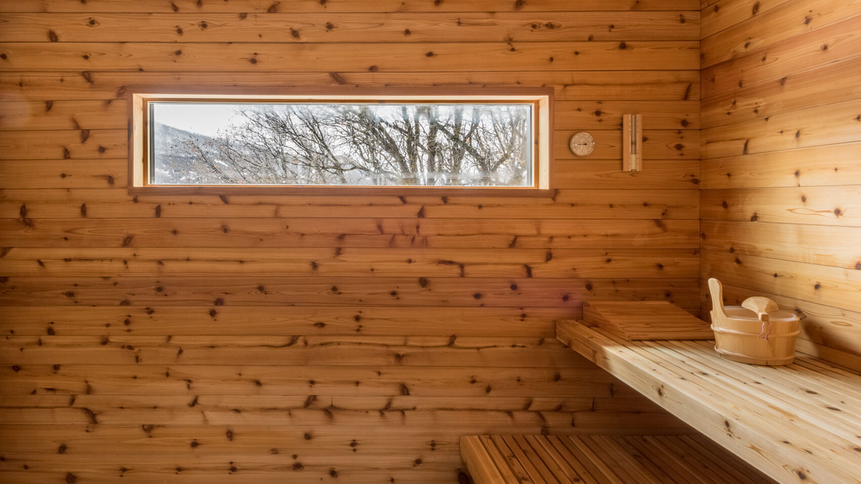 CCY Architects Gammel Damm sauna