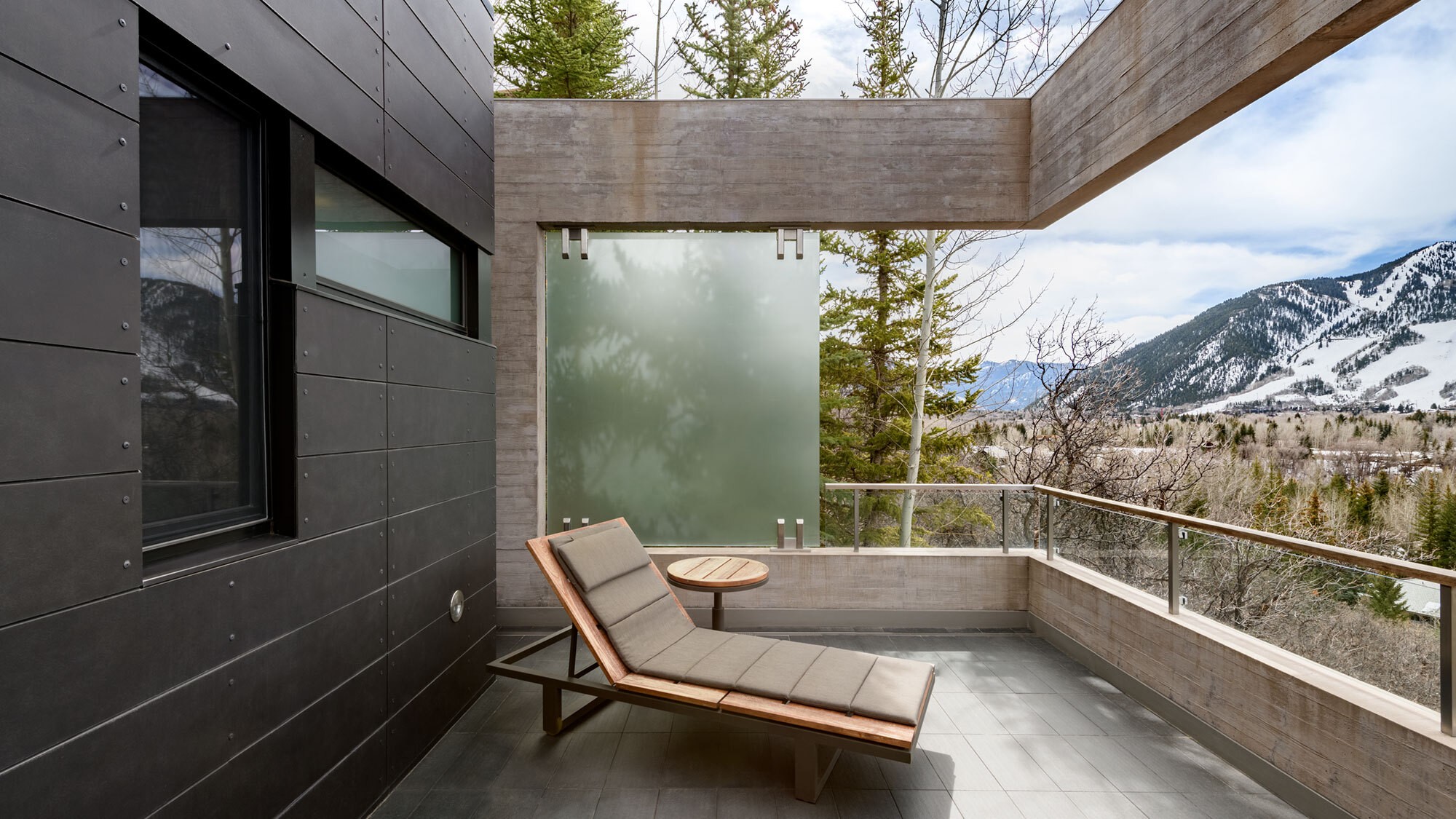 CCY Architects Red Mountain outdoor living