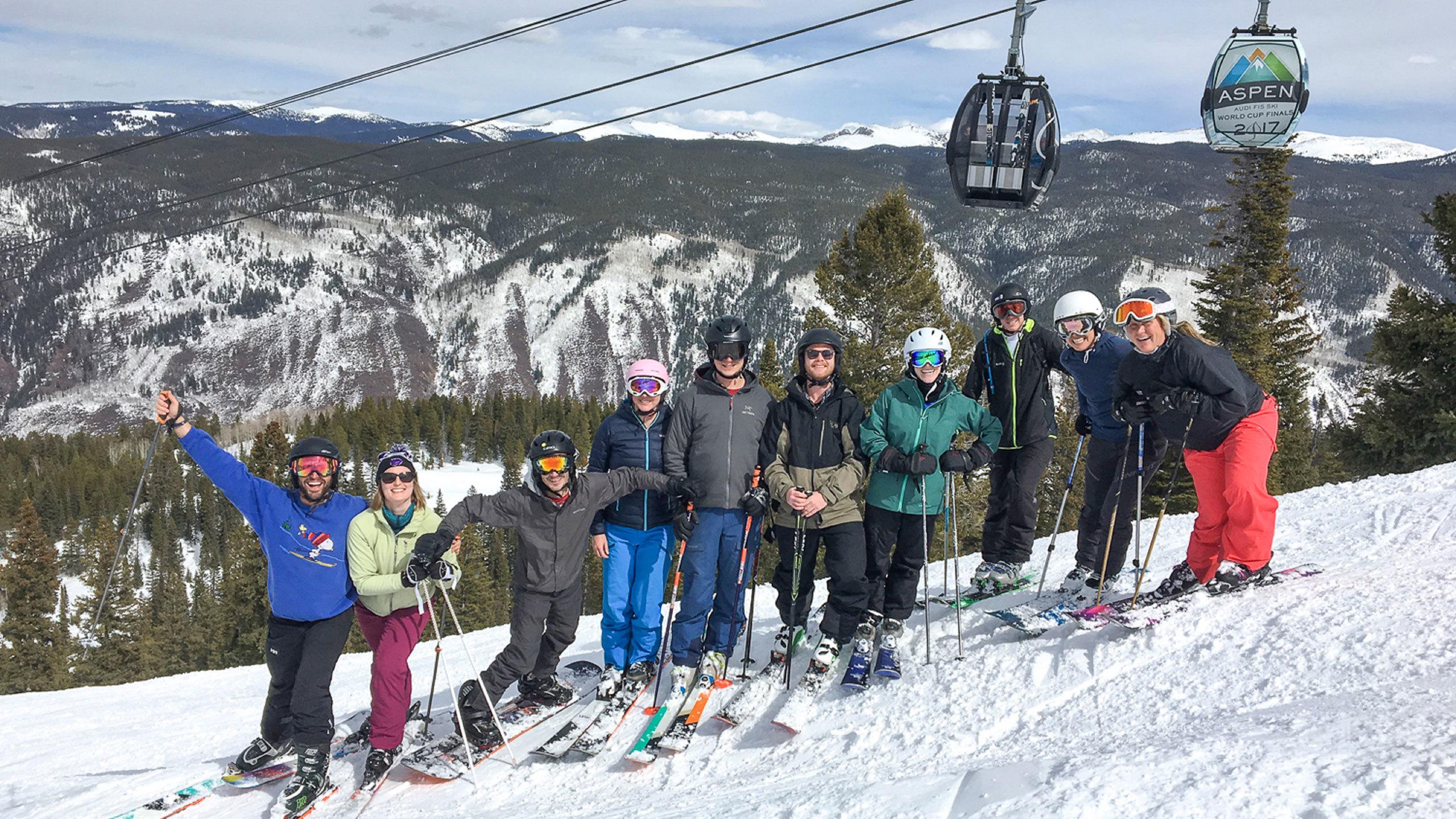 CCY Architects Aspen Ski Day