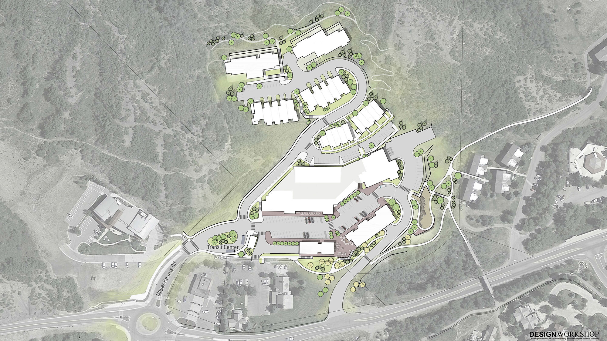 Design Workshop Snowmass Center site plan2
