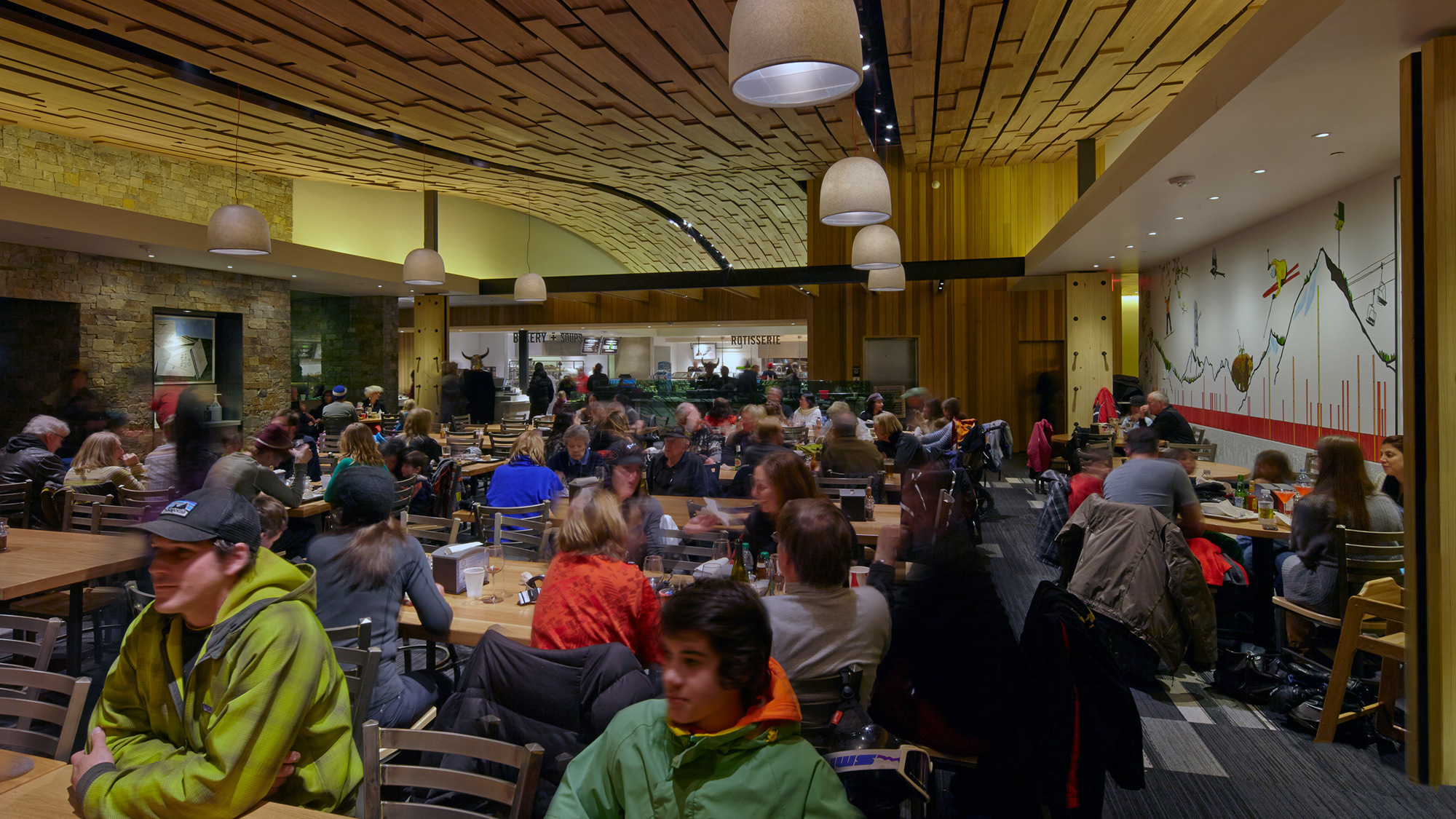 Elk Camp Dining Hall