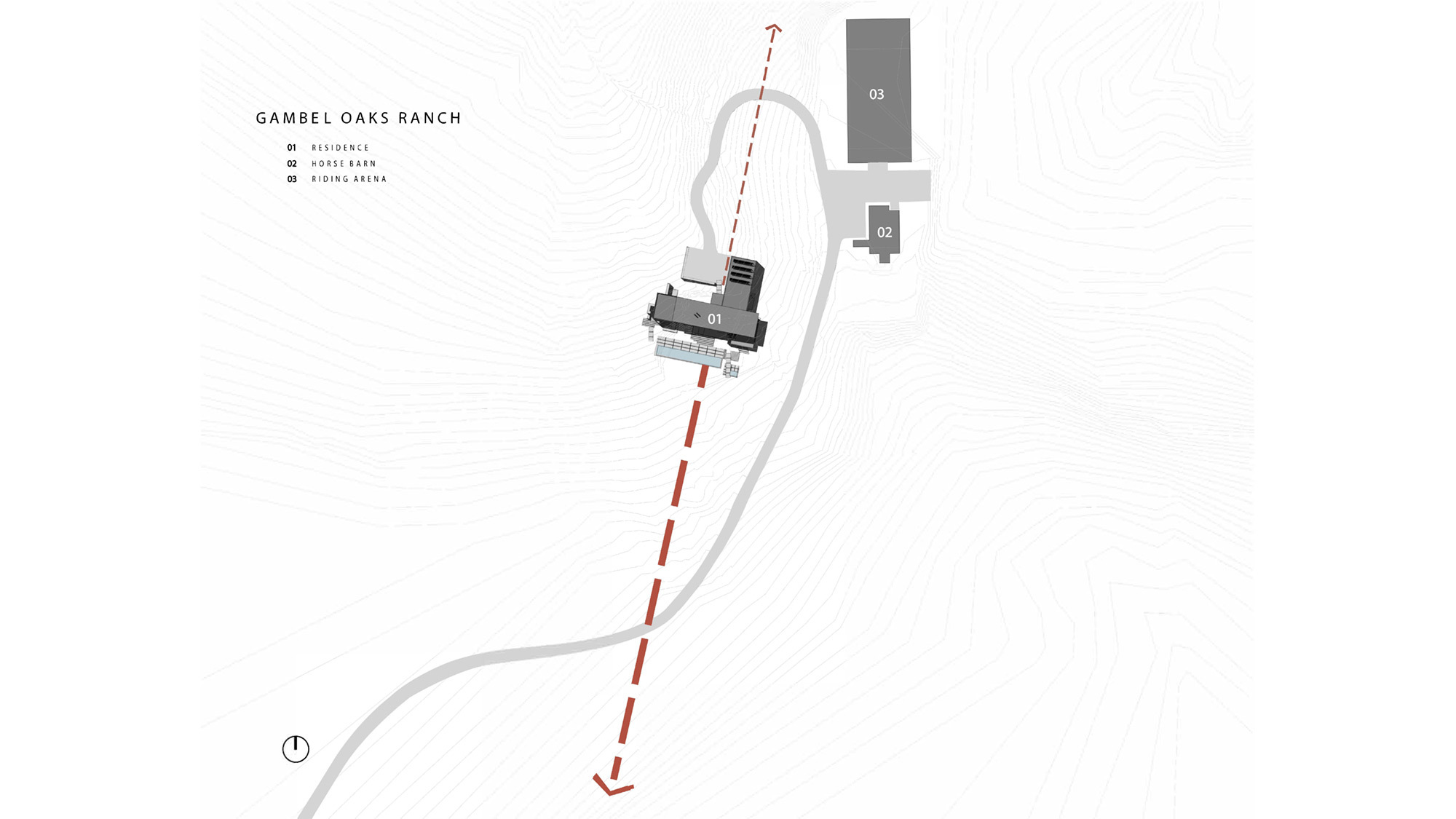 Gambel Oaks Site Plan