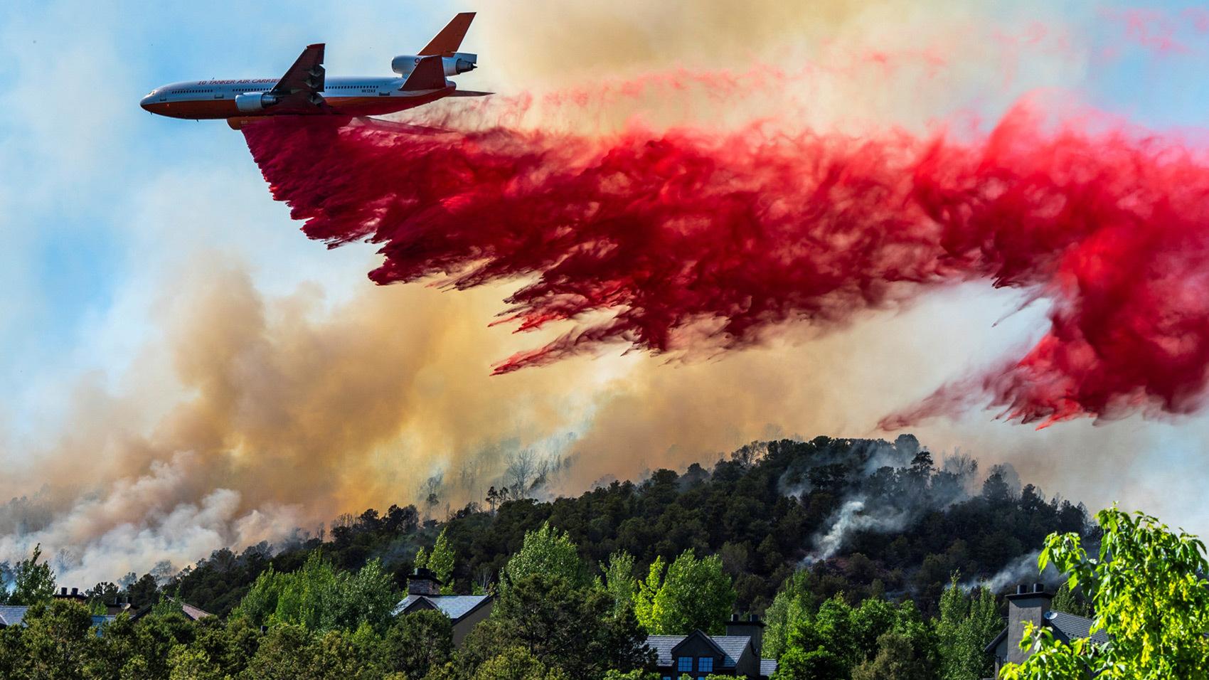 Lake Christine Fire Thumbnail Photo By Pete Mc Bride
