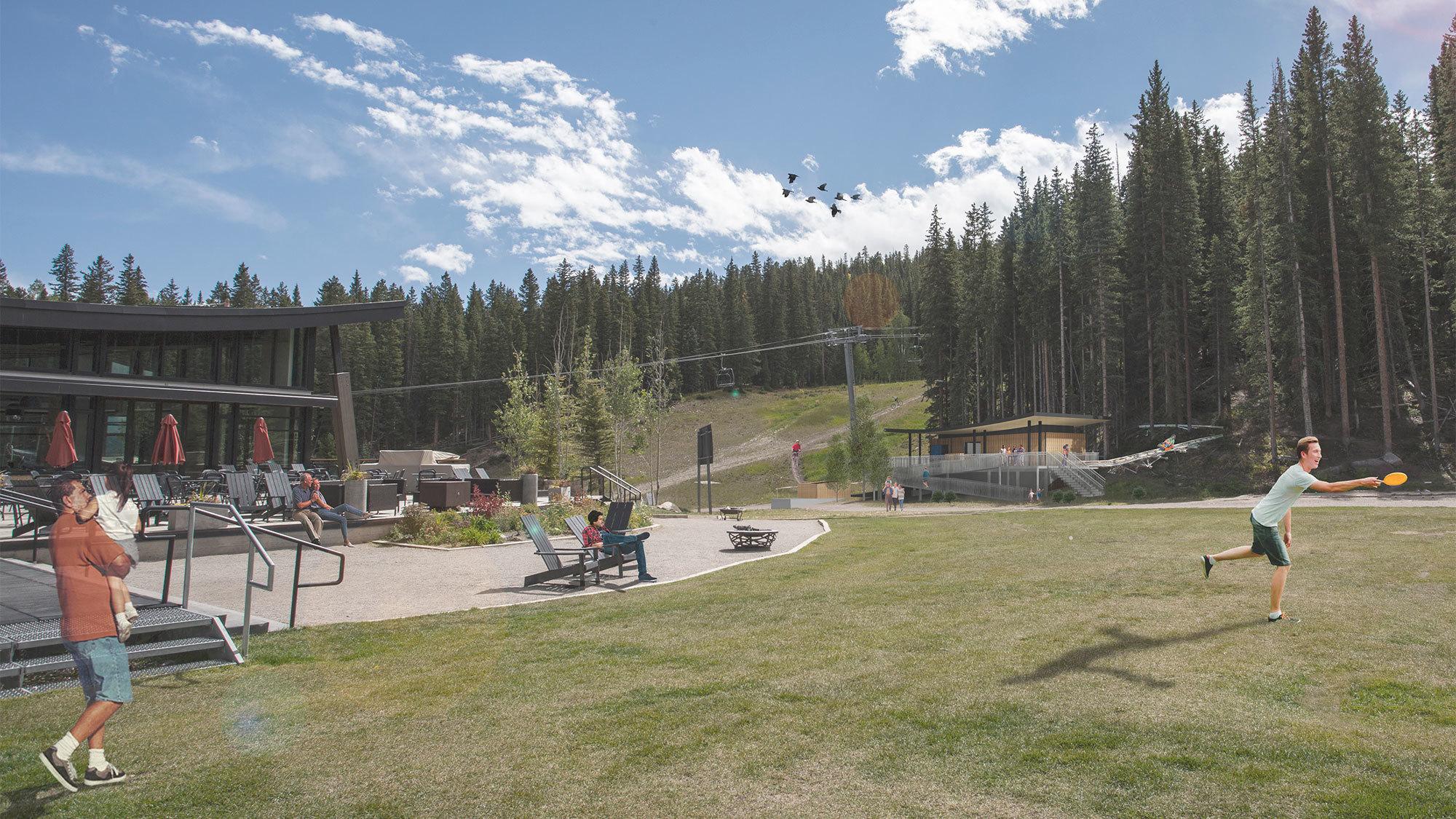Snowmass Folliles Coaster Station