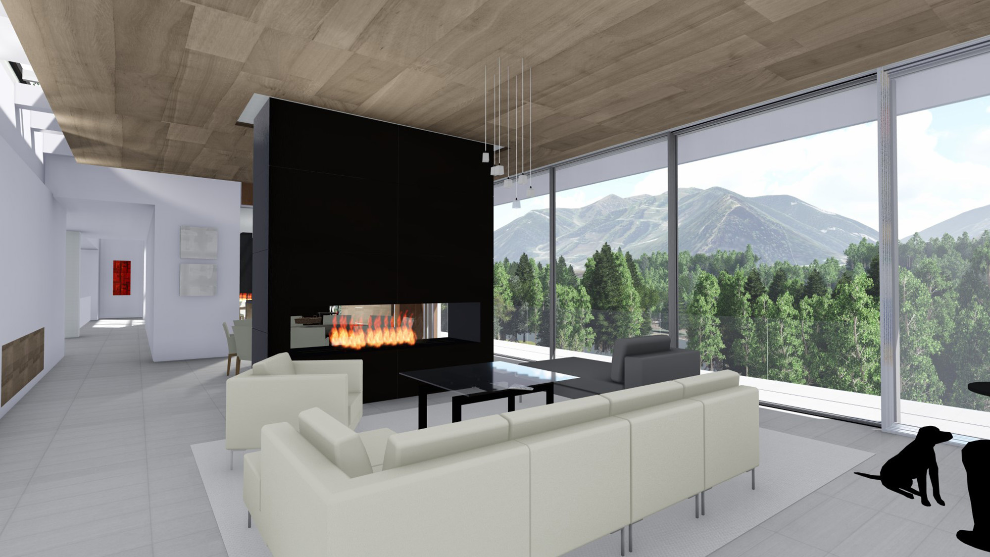 White Stone Interior